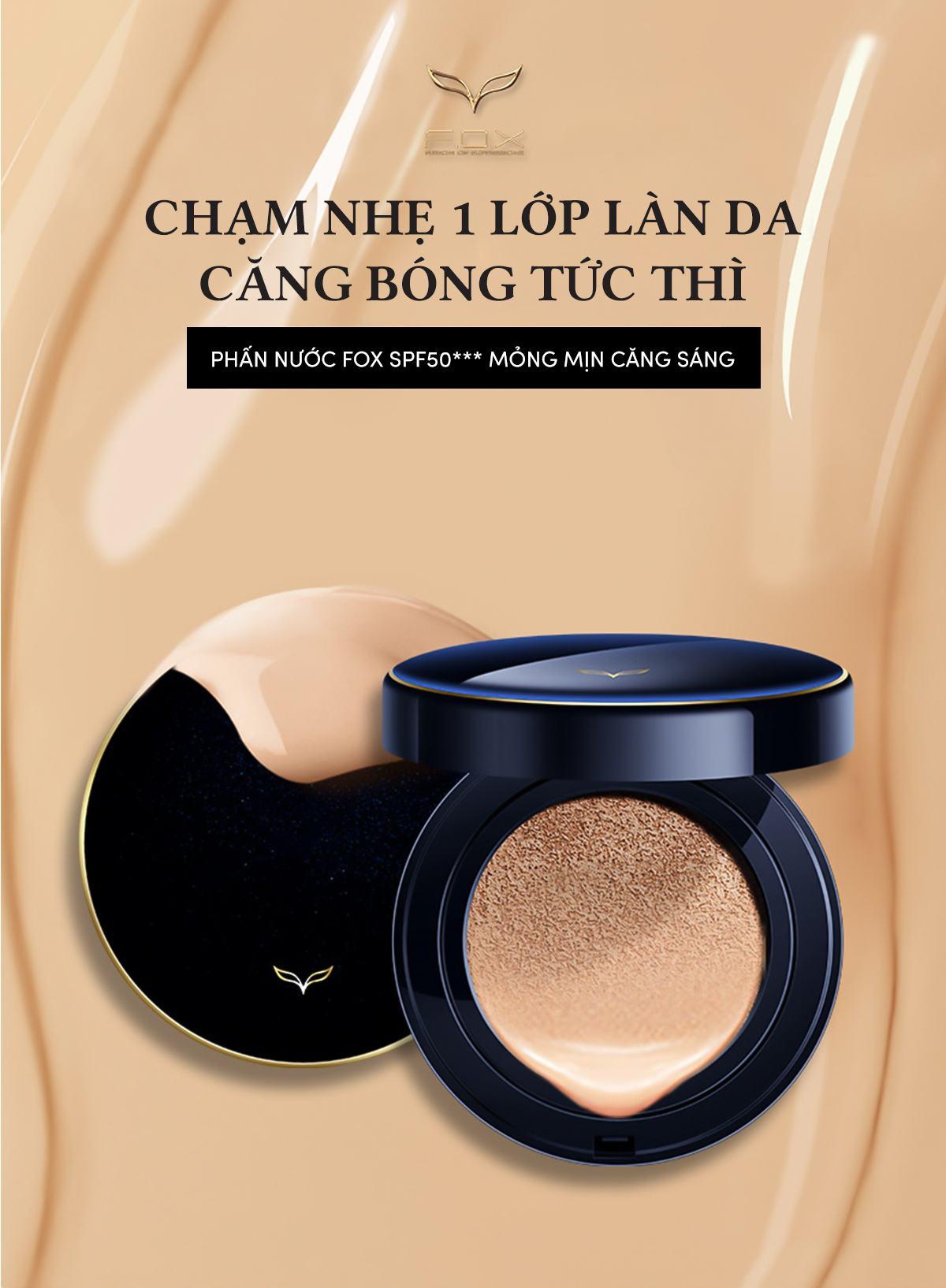 Phấn Nước Shining Cushion Foundation Siêu Mịn SPF 50+++ 15g - Fox Website