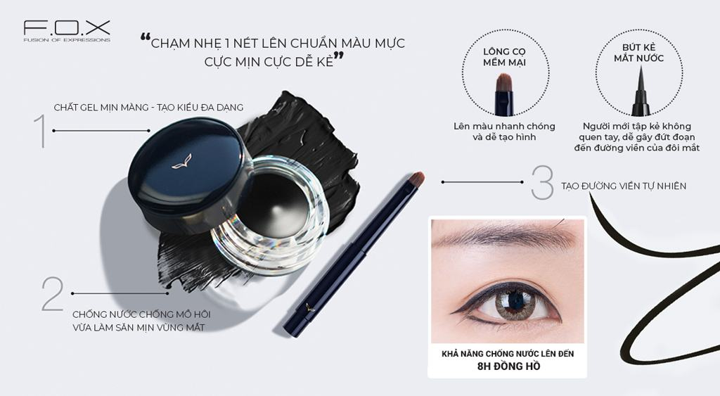 Gel Kẻ Viền Mắt Long Wear Eyeliner