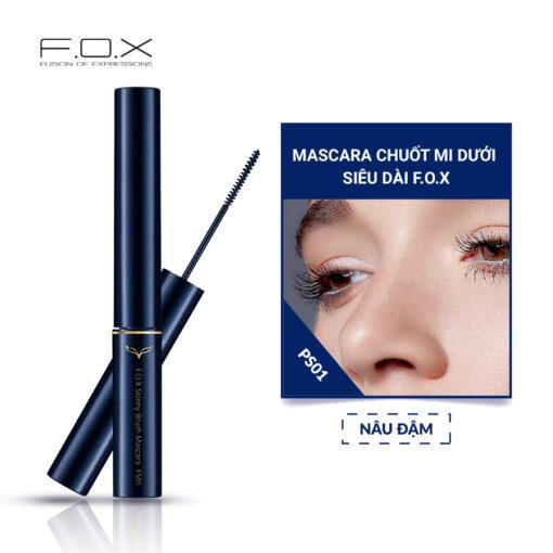 FS01 Mascara Chuốt Mi Dưới Skinny Brush Siêu Dài 3ml