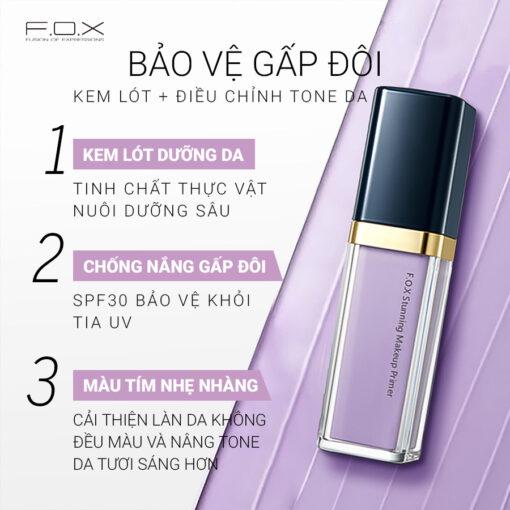 MP Kem Lót Stunning Makeup Primer SPF 30 Hiệu Chỉnh Màu Da 30ml