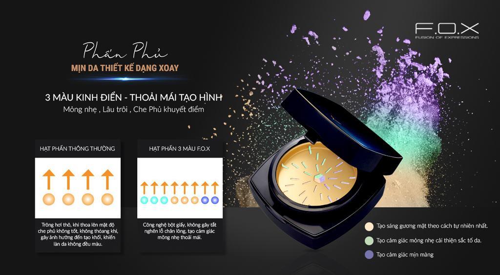 Phấn Phủ Silky Skincare Finish Powder Mịn Da Dạng Xoay 20g - Fox Website