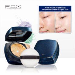 PA01 Phấn Phủ Silky Skincare Finish Powder Mịn Da Dạng Xoay 20g