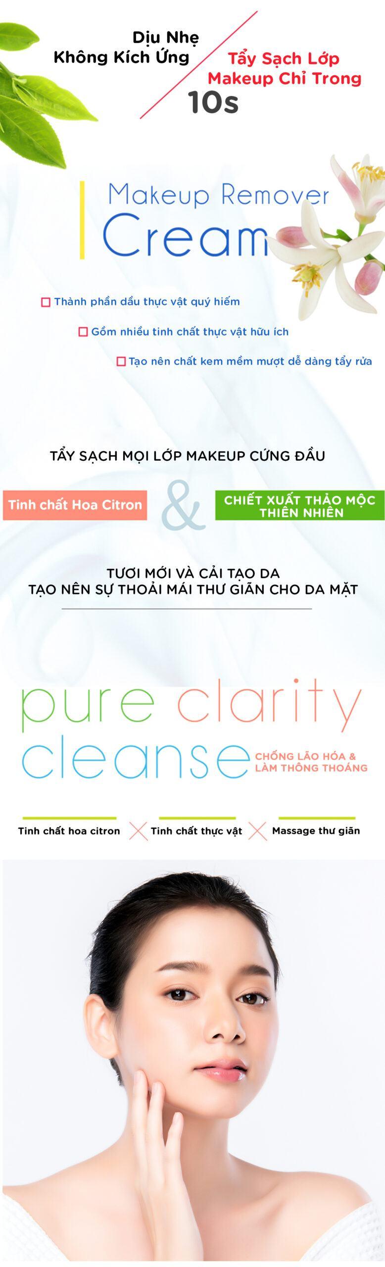 Tác Dụng Của Kem Tẩy Trang Makeup Remover Cream Hoa Citron