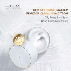 QJ01 Kem Tẩy Trang Makeup Remover Cream Hoa Citron 150g