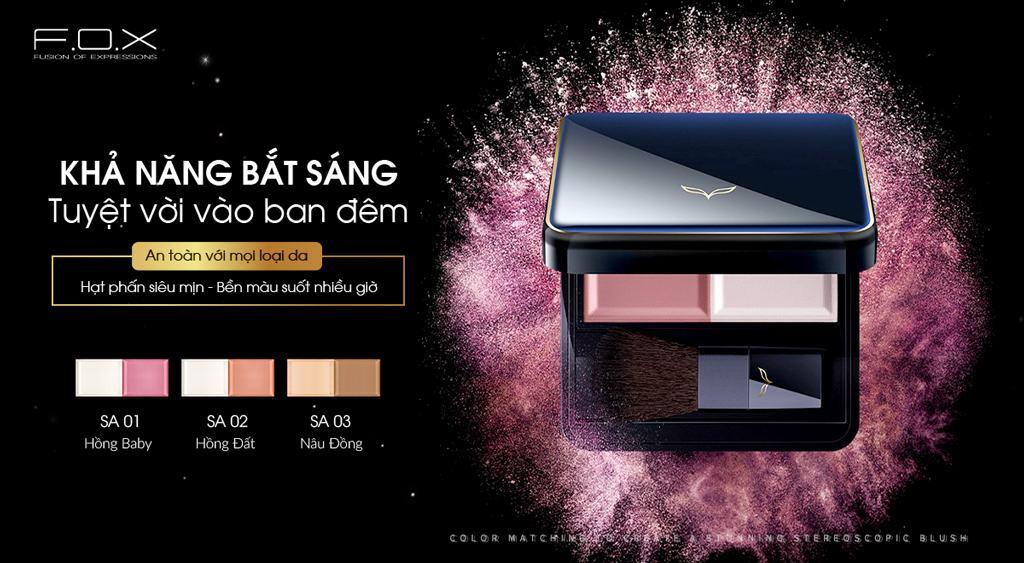 Phấn Má Hồng Tạo Khối Stunning Blush 7g - Fox Website