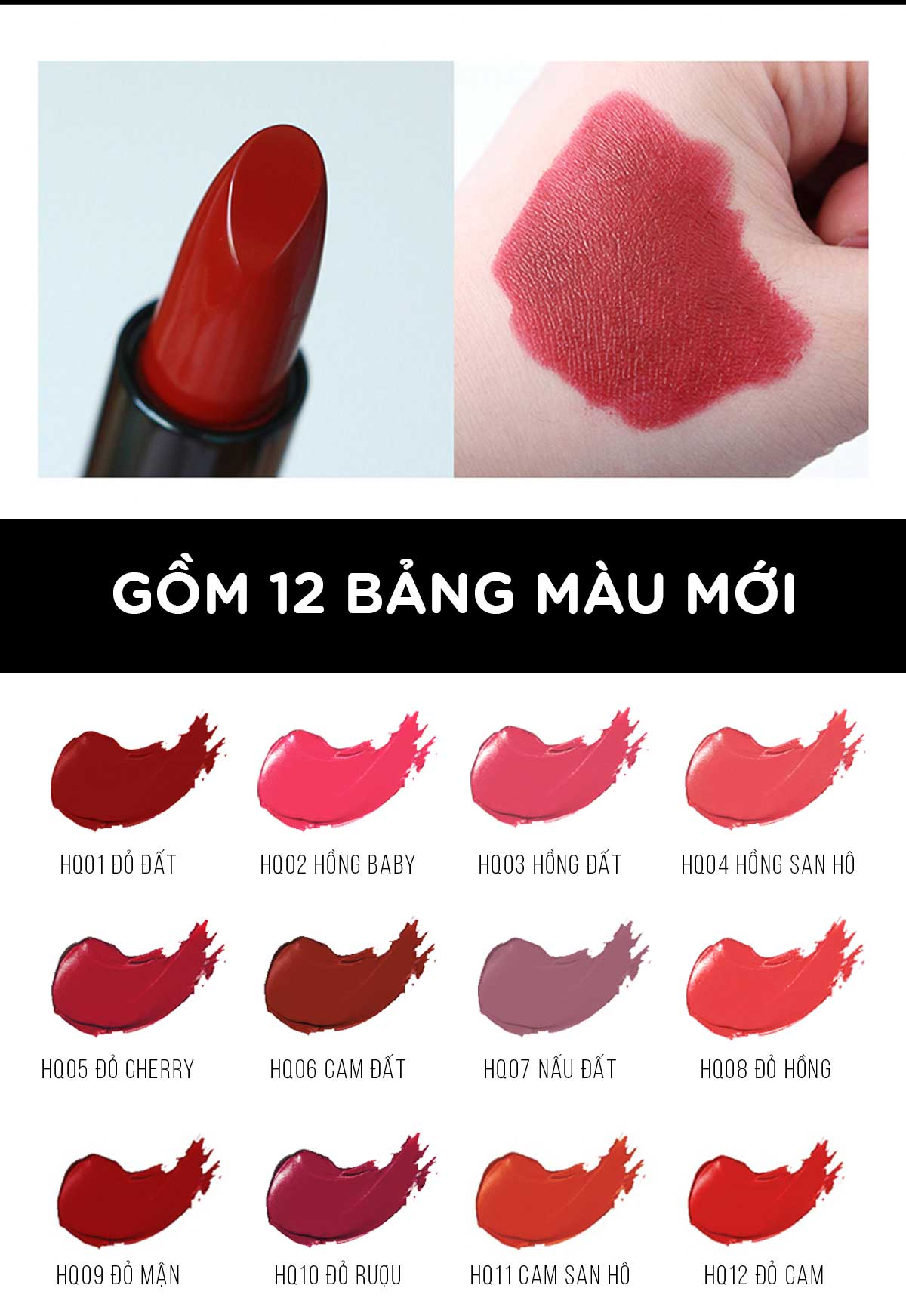 Bảng Màu Son Thỏi Definitely Lipstick