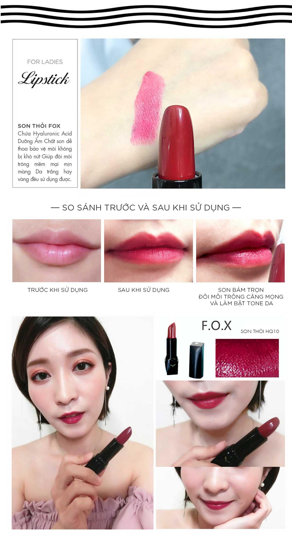 Trải Nghiệm Của Khách Về Son Thỏi Definitely Lipstick 4g