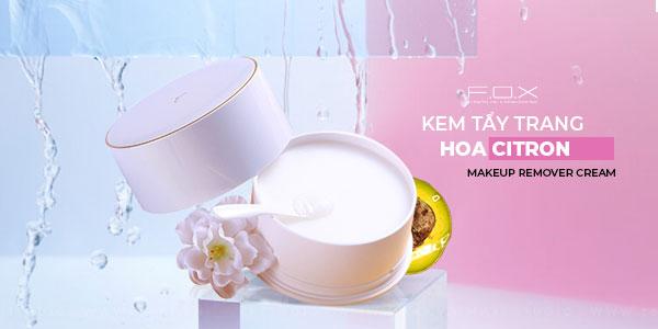 Kem tẩy trang Makeup Remover Cream Hoa Citron