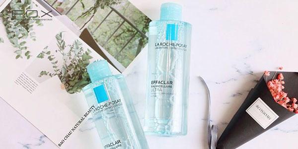 Nước tẩy trang cho da dầu mụn không cồn La Roche Posay Effaclar Micellar Water