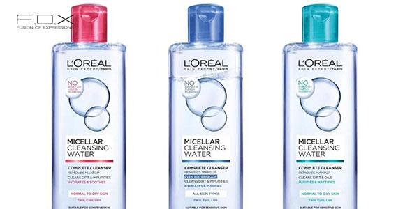 Nước tẩy trang cho da dầu mụn L'Oreal Micellar Water