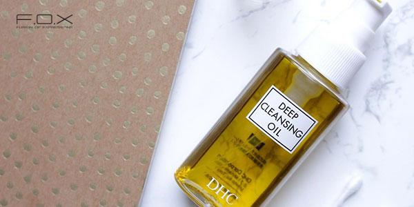Nước tẩy trang cho da mụn ẩn Olive DHC Deep Cleansing