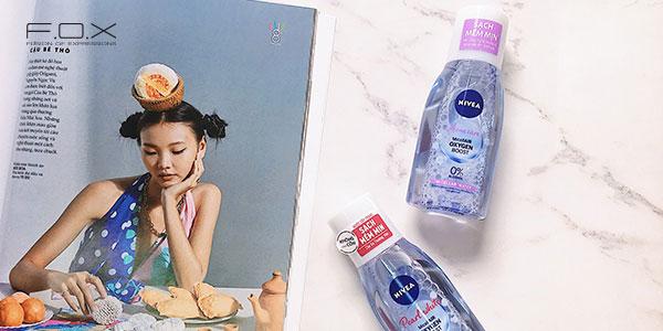 Nước tẩy trang tốt rẻ tinh chất ngọc trai Nivea Pearl White