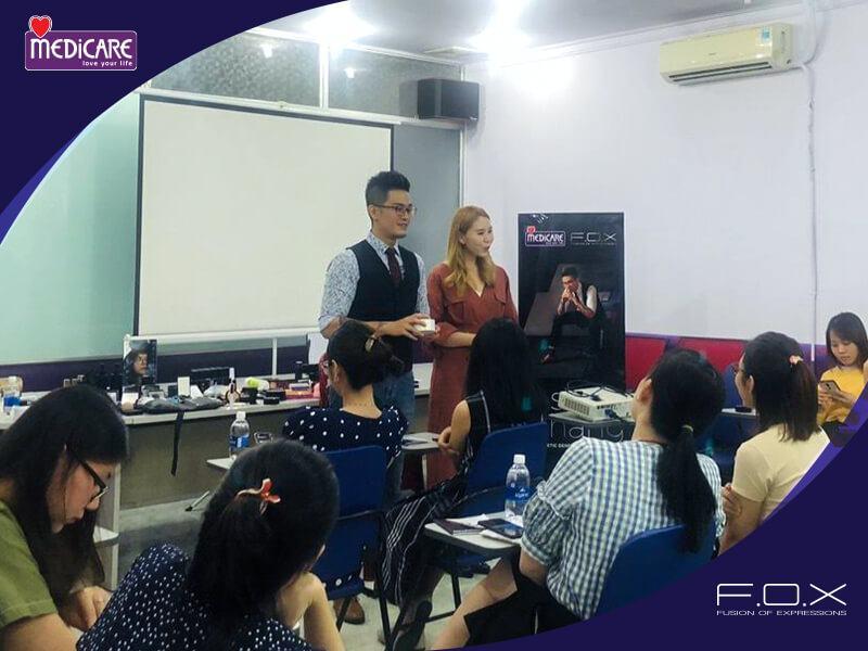 Makeup Workshop Training Từ FOX Cosmetics Và Medicare 2020