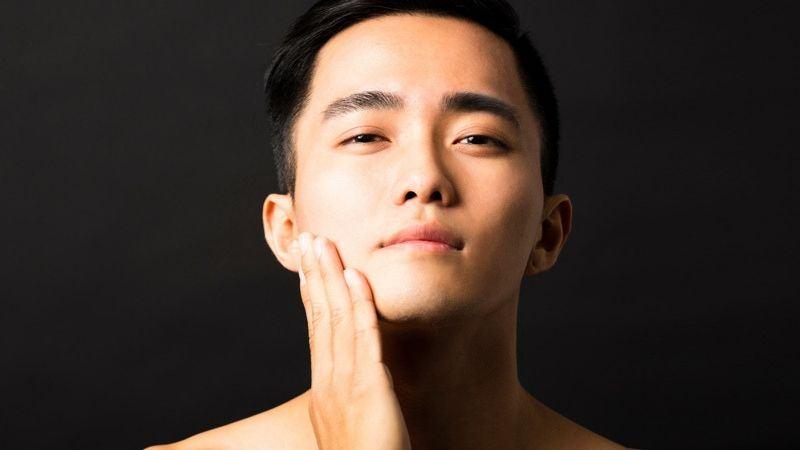 sự khác biệt của cấu trúc da nam giới