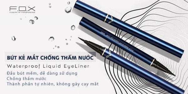 Bút kẻ mắt waterproof liquid eyeliner chống thấm nước