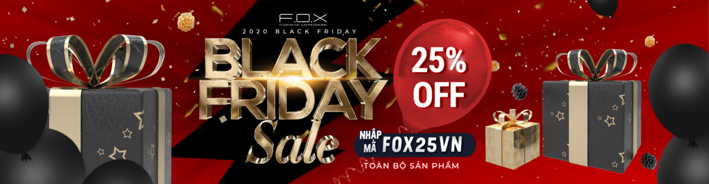 BlackFriday FOX Cosmetics
