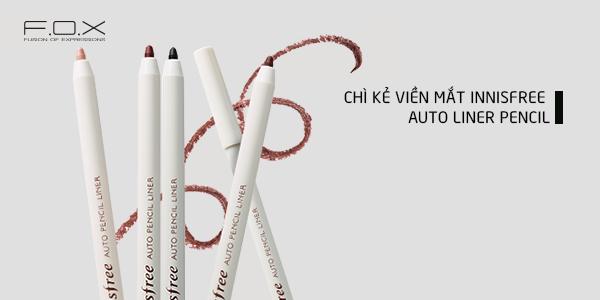 Chì kẻ mắt innisfree auto liner pencil