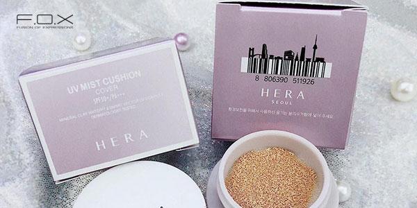 Phấn nước dành cho da khô Hera UV Mist Cushion