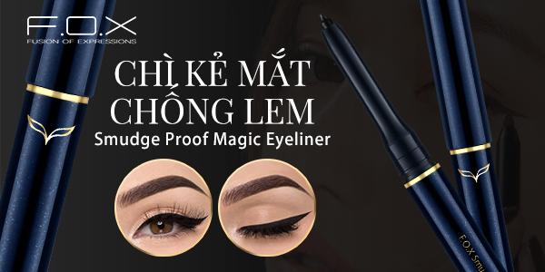 So sánh 2 dòng chì kẻ mắt Merzy Another Me The First Pen Eyeliner và Smudge Proof Magic Eyeliner