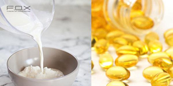 Cách dưỡng da bằng sữa tươi với Vitamin E
