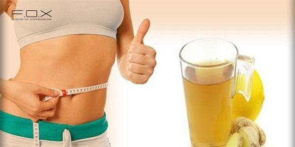 Cách làm giảm mỡ bụng bằng gừng tươi