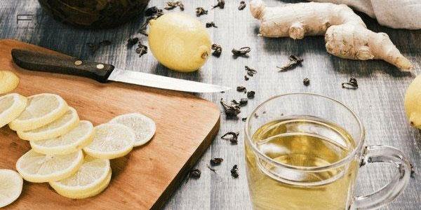 Cách làm trà gừng giảm cân với chanh
