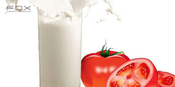 Mặt nạ cà chua và sữa tươi không đường