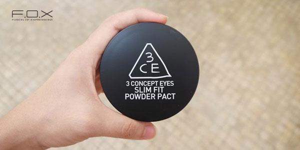 Phấn phủ 3CE Slim Fit Powder Pact