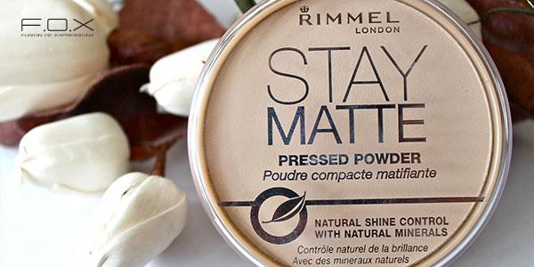 Phấn phủ cho da mụn Rimmel London Stay Matte Pressed Powder