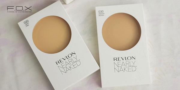 Phấn phủ kiềm dầu cho da mụn Revlon Nearly Naked Powder