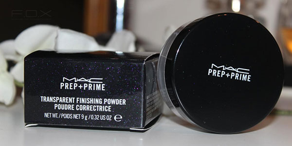 Phấn phủ kiềm dầu MAC Prep and Prime Transparent Finishing Powder