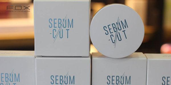 Phấn phủ nén cho da dầu Missha Sebum Cut Powder với công nghệ 3 hạt phấn