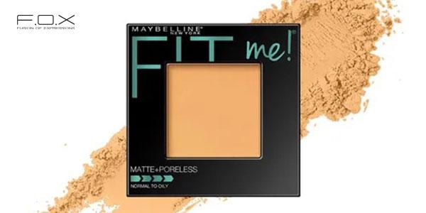 Phấn phủ nén Maybelline Fit Me Matte Poreless Powder 12H