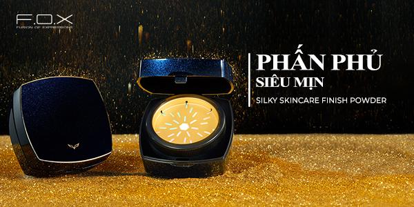 Phấn phủ siêu mịn Silky Skincare Finish Powder