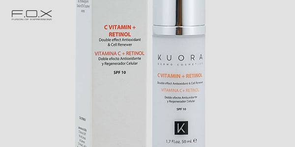 Serum se khít lỗ chân lông Kuora Retinol và Vitamin C