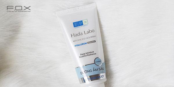 Sữa rửa mặt se lỗ chân lông từ Nhật Bản Hada Labo Advanced