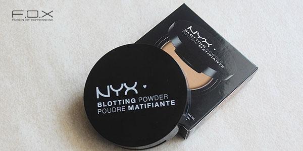 Phấn phủ cho da dầu mụn nhạy cảm Blotting Powder Poudre Matifiante - NYX