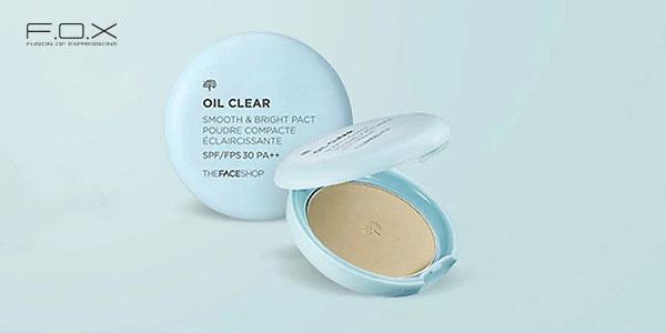 Phấn phủ cho da dầu The Face Shop Oil Clear