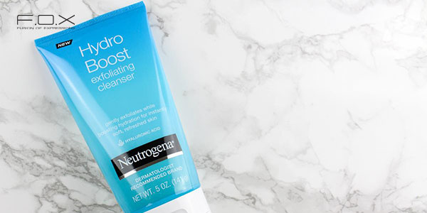 Sữa rửa mặt cho da hỗn hợp thiên dầu - Neutrogena Hydro Boost Exfoliating Cleanser