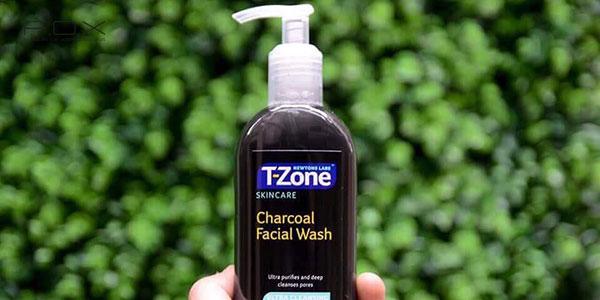 Sữa rửa mặt than hoạt tính T Zone Charcoal Facial Wash