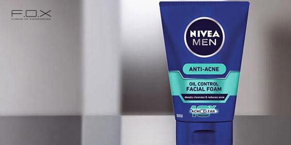 Sữa rửa mặt trị mụn cho nam Nivea Anti Acne Facial Foam