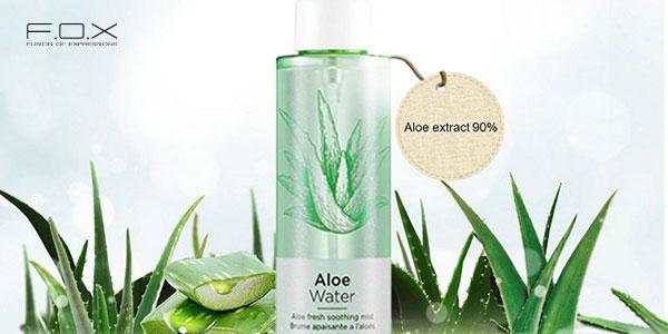 Xịt khoáng cho da dầu mụn The Face Shop Aloe Fresh Soothing Mist