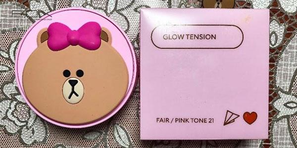 Missha Glow Tension phiên bản gấu Brown