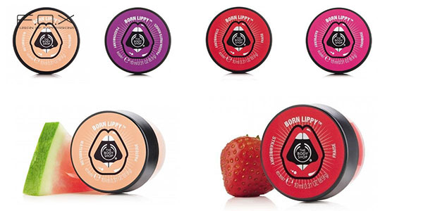 Son dưỡng môi The Body Shop Born Lippy Pot Lip Balm
