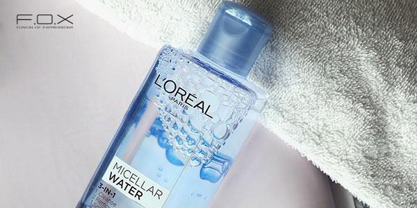 Nước tẩy trang cho da hỗn hợp thiên dầu L'Oreal Micellar Water 3-in-1 Deep Cleansing
