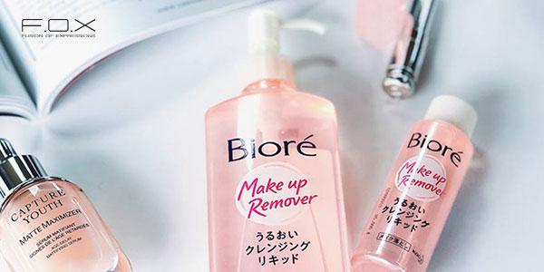 Nước tẩy trang cho da hỗn hợp thiên khô - Biore Makeup Remover Moisture
