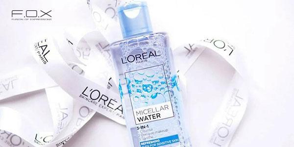 Nước tẩy trang cho da mụn ẩn L'Oreal Micellar Water 3in1 Refreshing Even Sensitive Skin