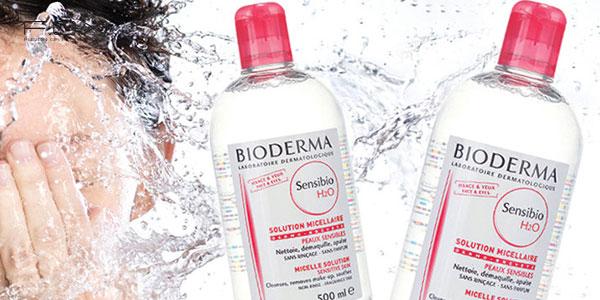 Nước tẩy trang cho da mụn Bioderma Sensibio H2O Micellar Water