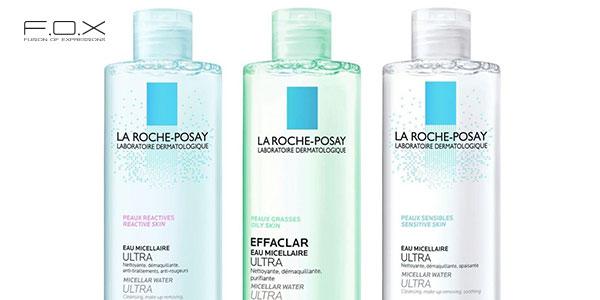 Nước tẩy trang cho da mụn dầu La Roche Posay Micellar Water Ultra Sensitive Skin