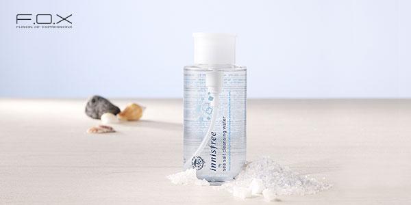 Nước tẩy trang cho da nhạy cảm của Hàn Innisfree Sea Salt Cleansing Water